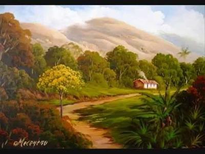 Pintura a Óleo Sobre Tela - Eduardo Mecenero