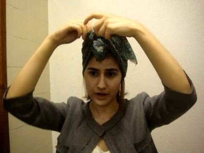 Tutorial turbante por Marcela Itagiba