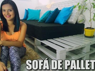 DIY: Sofá de Pallet