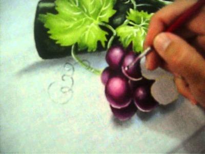 Pintando Uva rubi com Leticia Narcizo
