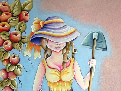 Pintura em Tecido Camponesa 1.2-My  Painting