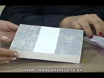 Tv Transamérica - Técnica: Textura criativa
