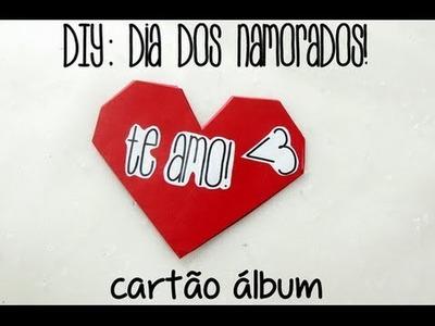 DIY - CARTÃO DE DIA DOS NAMORADOS ♥