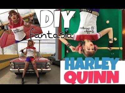 DIY | Fantasia Arlequina - Esquadrão Suicida (Harley Quinn - Margot Robbie) Parte: 01.02.