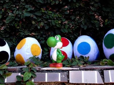 DIY - Ovo de pelúcia do Yoshi | Nintendo