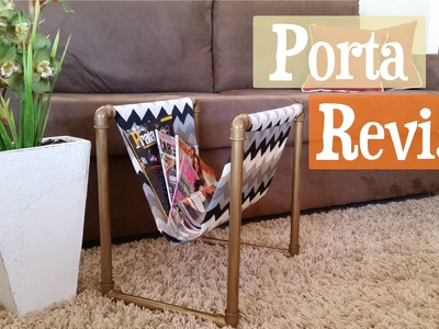 DIY Porta Revistas | Maísa Flora