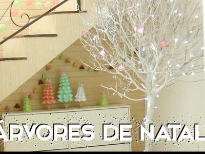 ESPECIAL NATAL #2: DIY árvores de natal - Paula Stephânia