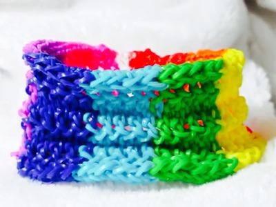 Rainbow Loom-Pulseira de Elástico MODELO EXCLUSIVO!Gomitas-Loom Bands