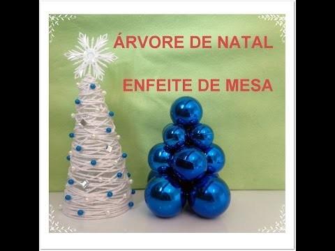 ESPECIAL NATAL #2: DIY árvore enfeite de mesa