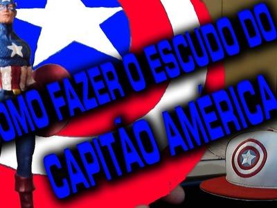 #ARTESANATO FAÇA O SEU ESCUDO DO CAPITAO AMERICA