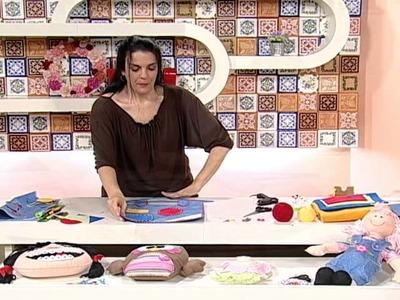 Artesanato - Organizador de material escolar