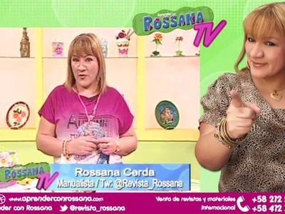 Bellas Carpetas para el Baby Shower en Foami - Aprender con Rossana TV #3. Temporada 2