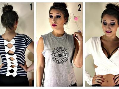 Customização de 3 Blusas #2 por Elisa Bighetti