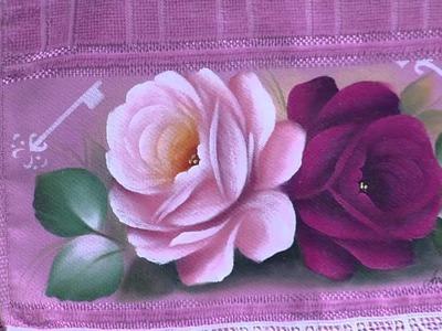 Mulher.com - 26.11.2015 - Pintura de rosas - Ana Laura Rodrigues PT2