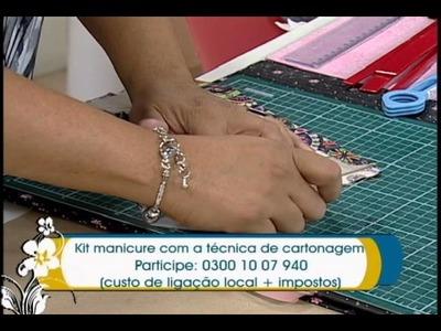 Artesanato - Kit para manicure