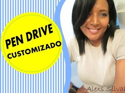 DIY | Pen Drive Customizado | by Alexs Silvah