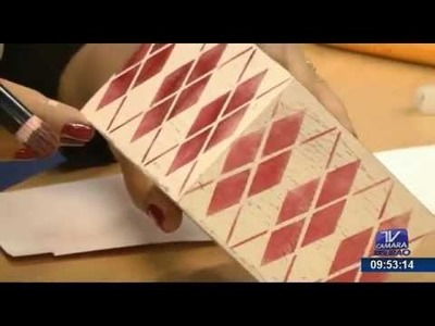 Programa Artesanato sem Segredo (29.06.15) - Pátina com vela