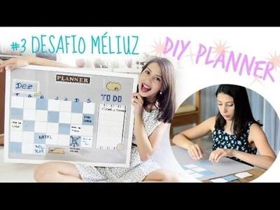 DESAFIO MÉLIUZ 3: DIY PLANNER