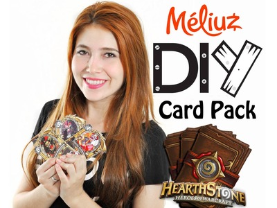 DIY : Card Pack do HearthStone (Desafio Méliuz 3)