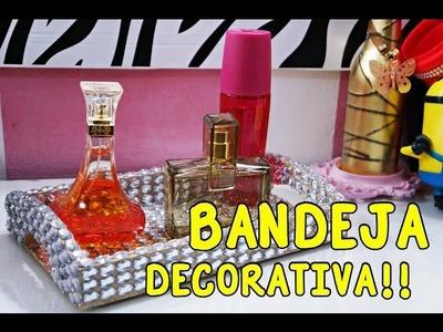 DIY: Bandeja Personalizada | PURO LUXO | #DTUPDECOR