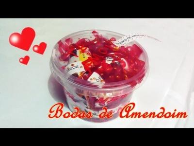 DIY: Bodas de Namoro - 4 anos e 5 meses - Bodas de Amendoim- Presente criativo
