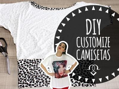 DIY - Customização de Camisetas