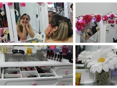 DIY Penteadeira  Decor e Organização
