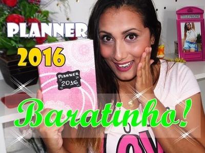 DIY - PLANNER SUPER BARATINHO 2016