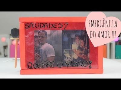 EMERGÊNCIA DO AMOR - DIY - DIA DOS NAMORADOS | POR CAROL GOMES