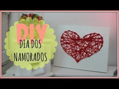 QUADRO DO AMOR - DIY - DIA DOS NAMORADOS | POR CAROL GOMES