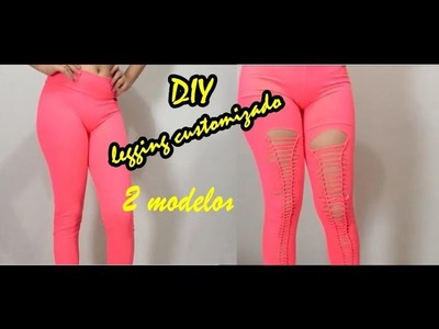 - COMO ARRASAR NA ACADEMIA - DIY - legging customizado