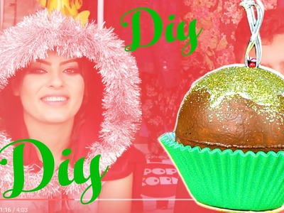 DIY: Bola de Cupcake com Kim Rosacuca|Especial de Natal