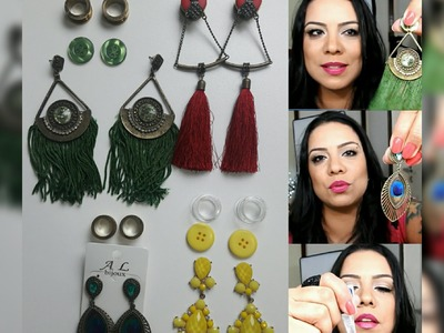 DIY | Customizando Alargadores 16 e 18mm com Brincos | Parte 2 | Flávia Maqui