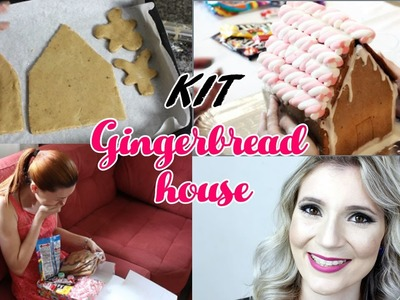 DIY GINGERBREAD HOUSE KIT - CASA DE DOCE - Desafio Méliuz DIY