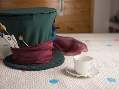 DIY Mad Hatter Hat   Liliana Alves