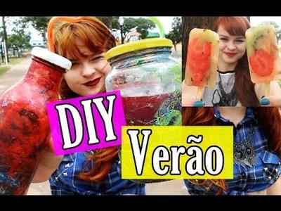 DIY Verão: Mason Jar, Cropped e Sorvete!