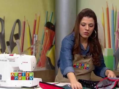 Ateliê na TV - Tv Gazeta - 20.07.15 - Lia Pavan