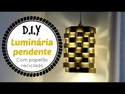 Luminária Pendente DIY   #ClubeDaCasa Ep.1