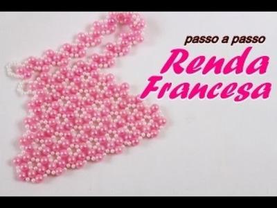 NM Bijoux - Renda Francesa - passo a passo
