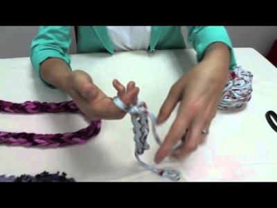 Tear com os dedos (colar ou cachecol)
