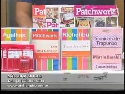 Ateliê na TV - Tv Gazeta - 03.11.14 - Lu Gastal