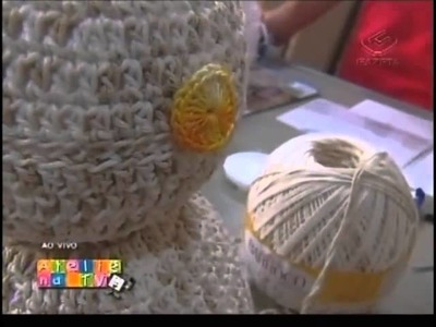 Ateliê na Tv - Tv Gazeta - 18-10-12 - Cristina Luriko