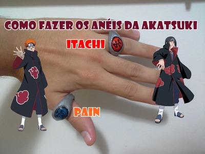 Como fazer os anéis da akatsuki(itachi e pain)