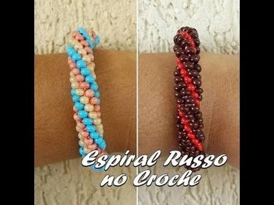 NM Bijoux - Espiral Russo no Croche