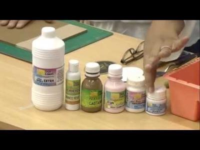 Programa Artesanato sem Segredo (23.11.15) - Caixa com juta