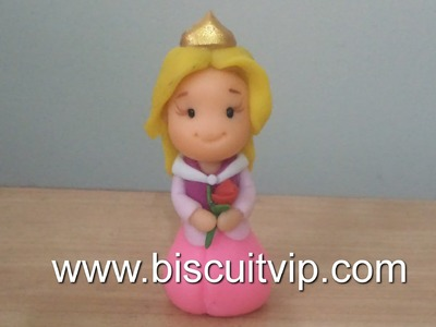 Baby Princesas Disney -  Aurora - Canal Aula de Biscuit