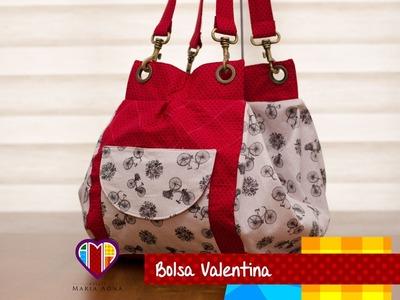 Bolsa mochila de tecido Valentina - Maria Adna Ateliê - Cursos e aulas de bolsas de tecido e couro