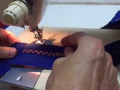 Como fazer patchwork e bordados com maquina de costura comum usando discos