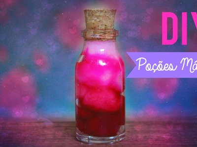 DIY: BOTTLE CHARM DEGRADÊ ➸ POÇÕES DO AMOR