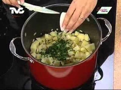 Receta para preparar Sopa de Papa